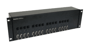 SADI-PROS-RK-TX16S Transmit Up to 16 High-Resolution SXGA, Stereo Audio, RS-232 and IR Sources 1,000 Feet over CAT5 with Rack-Mount Chassis