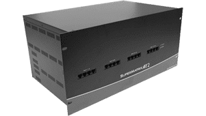 HDCATxSW-64x16 HD Component Video to CAT5 64x16 Matrix Matrix Routing Switcher for composite video, RGBS, UXGA, YUV, Y/C, CVBS and stereo audio signals up to 1,699 feet over Cat5e/6/7