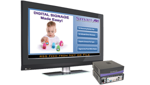 DigiSign-HD-Play-4GS Deliver HD Digital Content and Digital Signage with 4GB Flash Memory