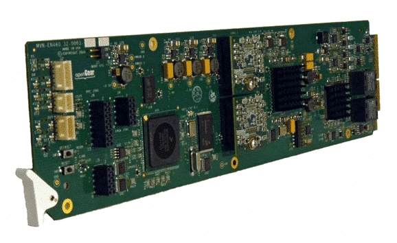 VEN-5200 MPEG-4 AVC Dual Channel Encoder Card with ASI Output