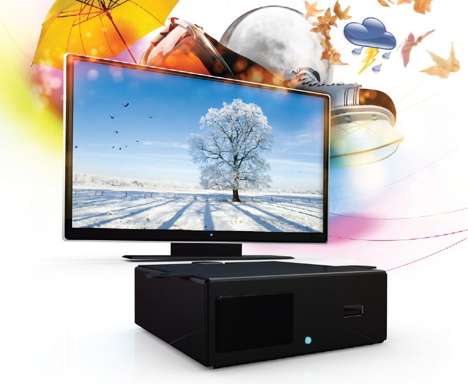 Decoder Amino Aminet H140 VidOvation TV HD Set-top-box for IPTV & Corporate TV