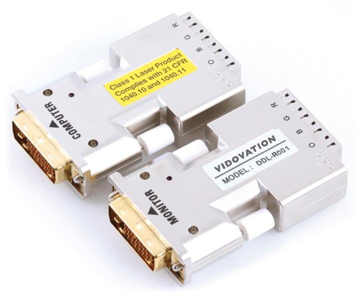 FOE-400-DVI Fiber Optic Extender 4 Channel