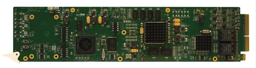 VDE-5100  IP De-encapsulator with 6 ASI Outputs openGear Card