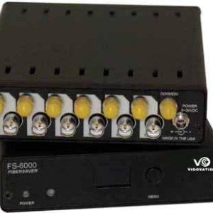 Fibermux 18 Ch HD SDI 1 Fiber Optic Active Wavelength Re-mapper and Multiplexer over