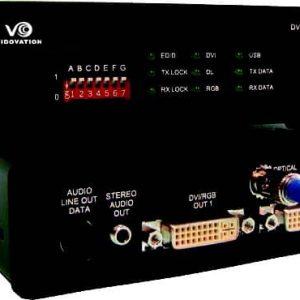 FVT/FVR-2000-A-D-DVI with RGB-HV, UXGA & Component Video, DVI Single & Dual Link, Stereo Audio & Data Fiber Transport