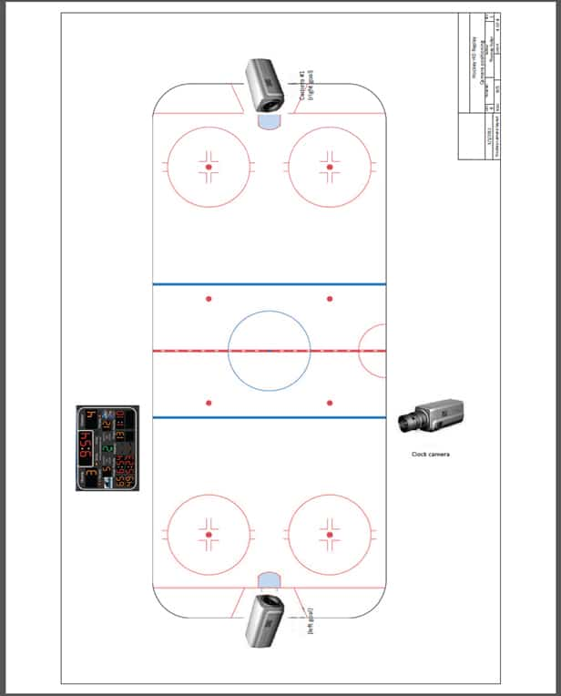 Instant Replay, Officiating & Training System for Hockey
