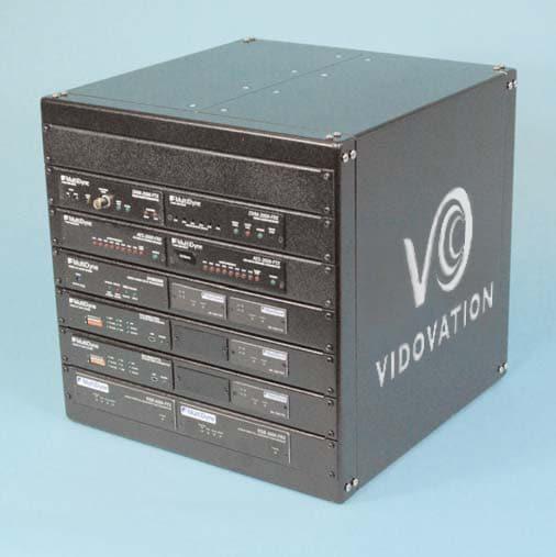 VidOptic Remote Box II VidOptic Remote Fiber Optic Transport Box HD II, Composite, Audio, Ethernet & DataBattery Operated & Bi-Directional