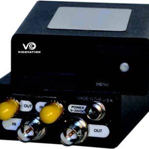 FVT/FVR-1000-D3G Dual 3G HDSDI Fiber Trasport w/ OLED Display and Control