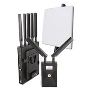 VidOlink Reacher 3000 V-Lock Professional Zero Delay Wireless Video System – Dual Inputs HDMI & SDI – 1080p60 – 10 Bit 4:2:2 – 3000ft Range