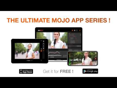 AVIWEST MOJOPRO Video Mobile Journalism – Go Live, Capture, Edit, Add Logos, Voice-over from iOS, Android & MacBook Pro