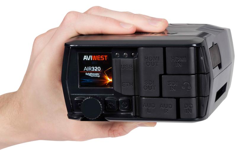 AIR320 Ultra Compact Bonded Cellular Transmitter alternative LU200