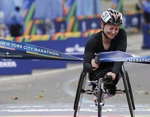 VidOvation's AVIWEST Bonded Cellular System Rides Along During NYC Marathon's Women's Wheelchair Race – VidOvation Blog