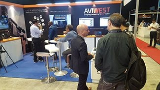 Book Meeting NAB NY with AVIWEST & VidOvation