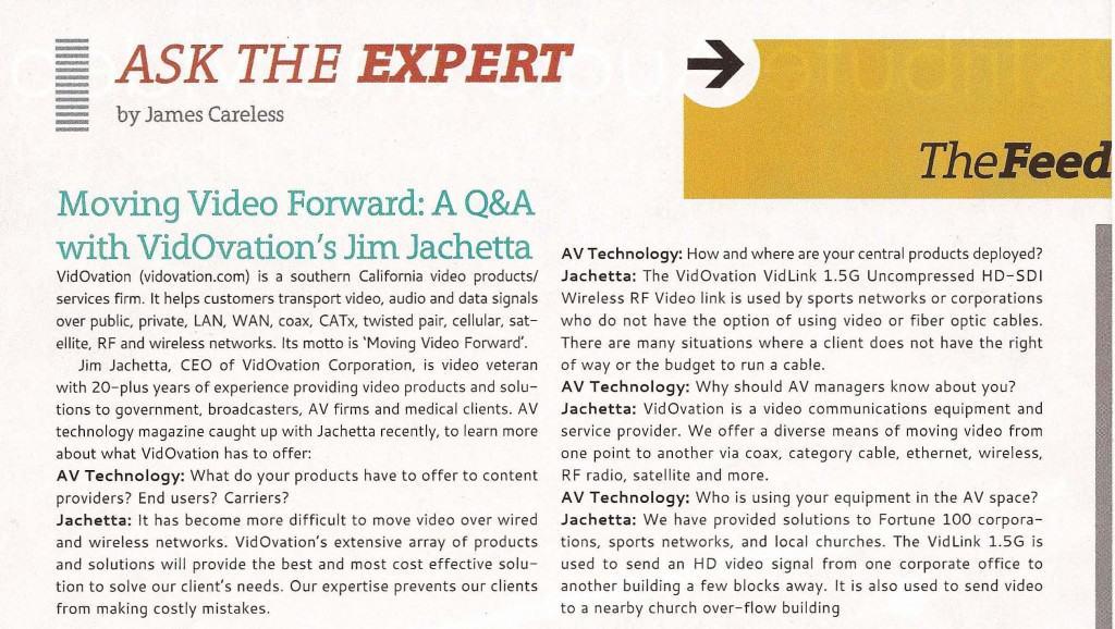 Ask the Expert-VidOvation-Jim-Jachetta-Crop