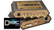 DP221 2 Channel HD-SDI Multiplexer using DIRAC-PRO by NuMedia