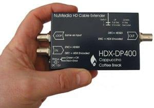 HDX-DP400 1485Mbps HD-SDI to 270Mbps SDI Encoder/Decoder using DIRAC PRO by NuMedia