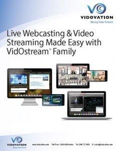 multi-camera video streaming webcasting