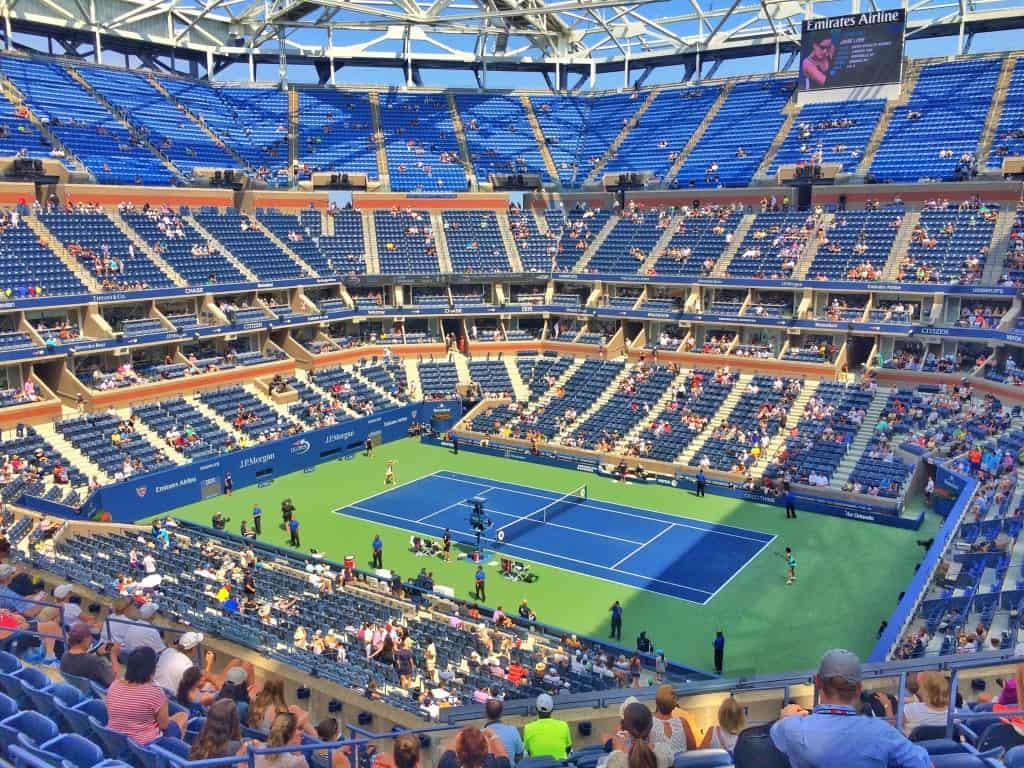US open of tennis - AVIWEST Bonded Cellular Coverage for TV2 Denmark