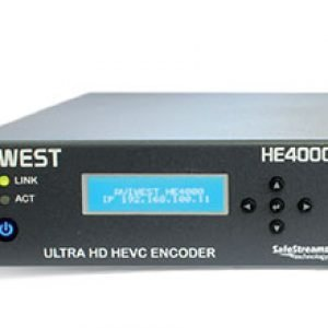 AVIWEST HE4000 HEVC Single 4K UHD and Quad HD Video Encoder via Public Internet