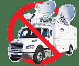 No-Satellite-Truck-Broadcasting