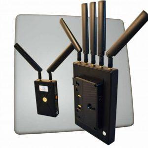 VidOlink Reacher 3000 Anton Bauer Gold Professional Zero Delay Wireless Video System – Dual Inputs HDMI & SDI – 1080p60 – 10 Bit 4:2:2 – 3000ft Range
