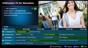 IPTV for Education, Schools, Universities & Dorm Rooms