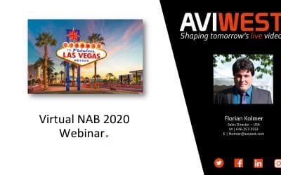 AVIWEST NAB Updates – New RACK Field Encoders & 5G Cellular Transmitters [Webinar Recording]