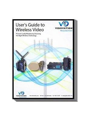 Wireless HD SDI